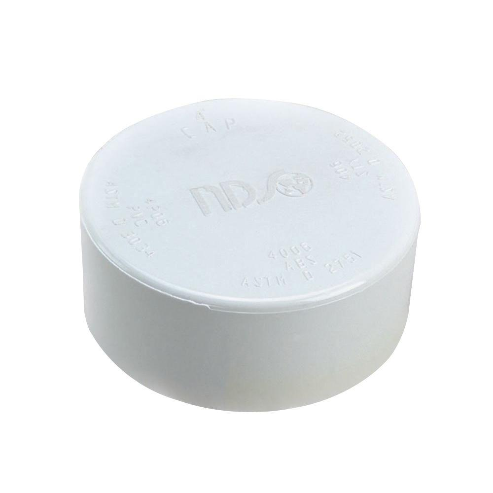 4 in. PVC Sewer and Drain Cap