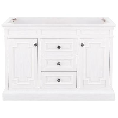 Cailla 48 in. W x 21.50 in. D Bath Vanity Cabinet Only in White Wash