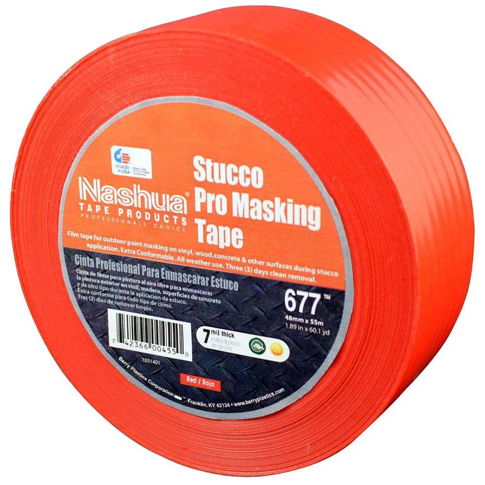 Nashua Tape 1.89 in. x 60.1 yds. 677 Stucco Pro Film Tape