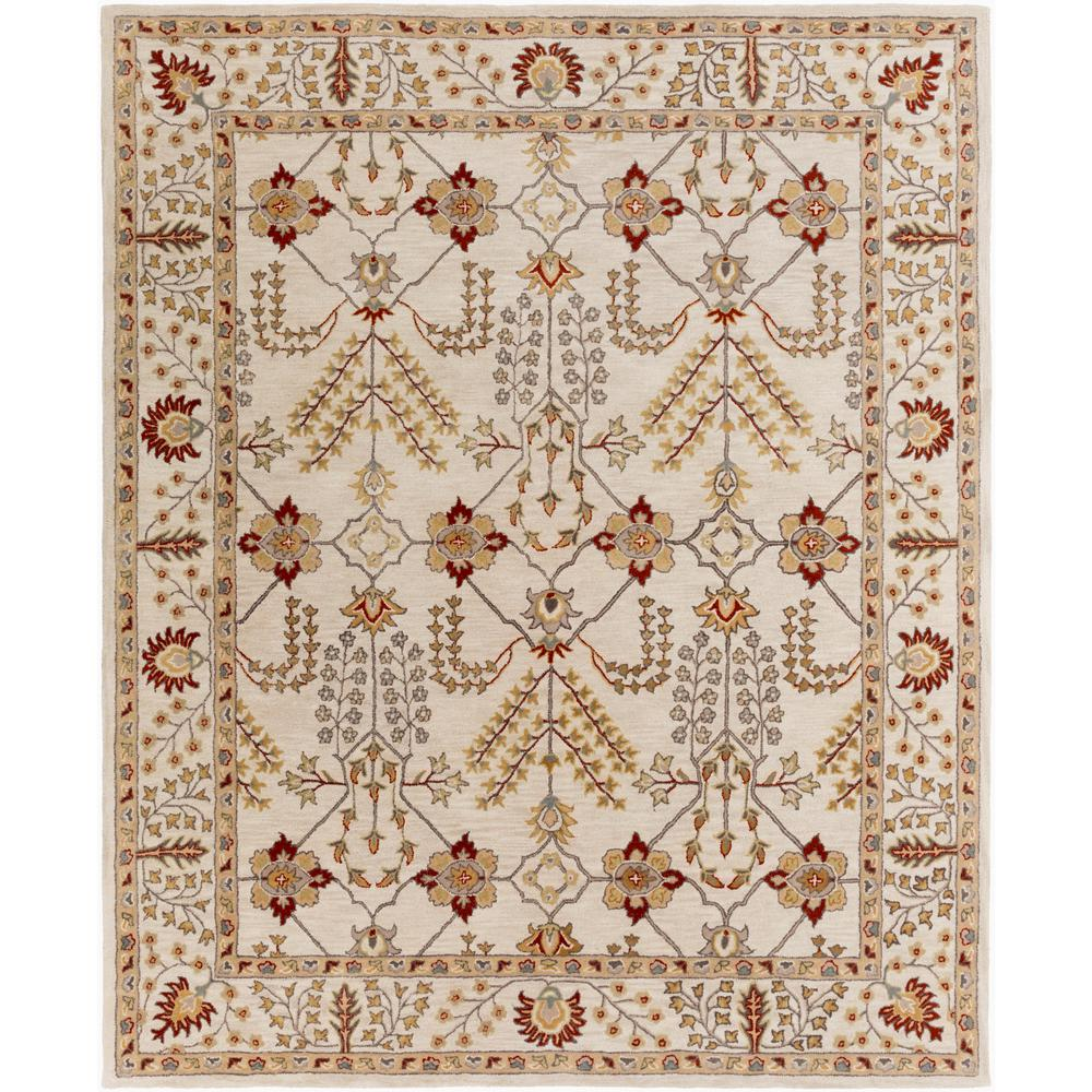 Middleton Kelly Ivory 8 ft. x 10 ft. Indoor Area Rug