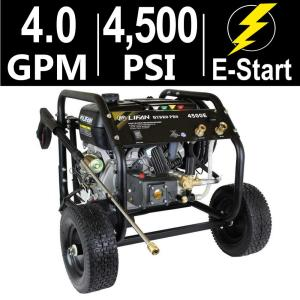 LIFAN Hydro Pro Series 4,500 psi 4.0 GPM AR Tri-Plex Pump Electric Start Gas... by LIFAN