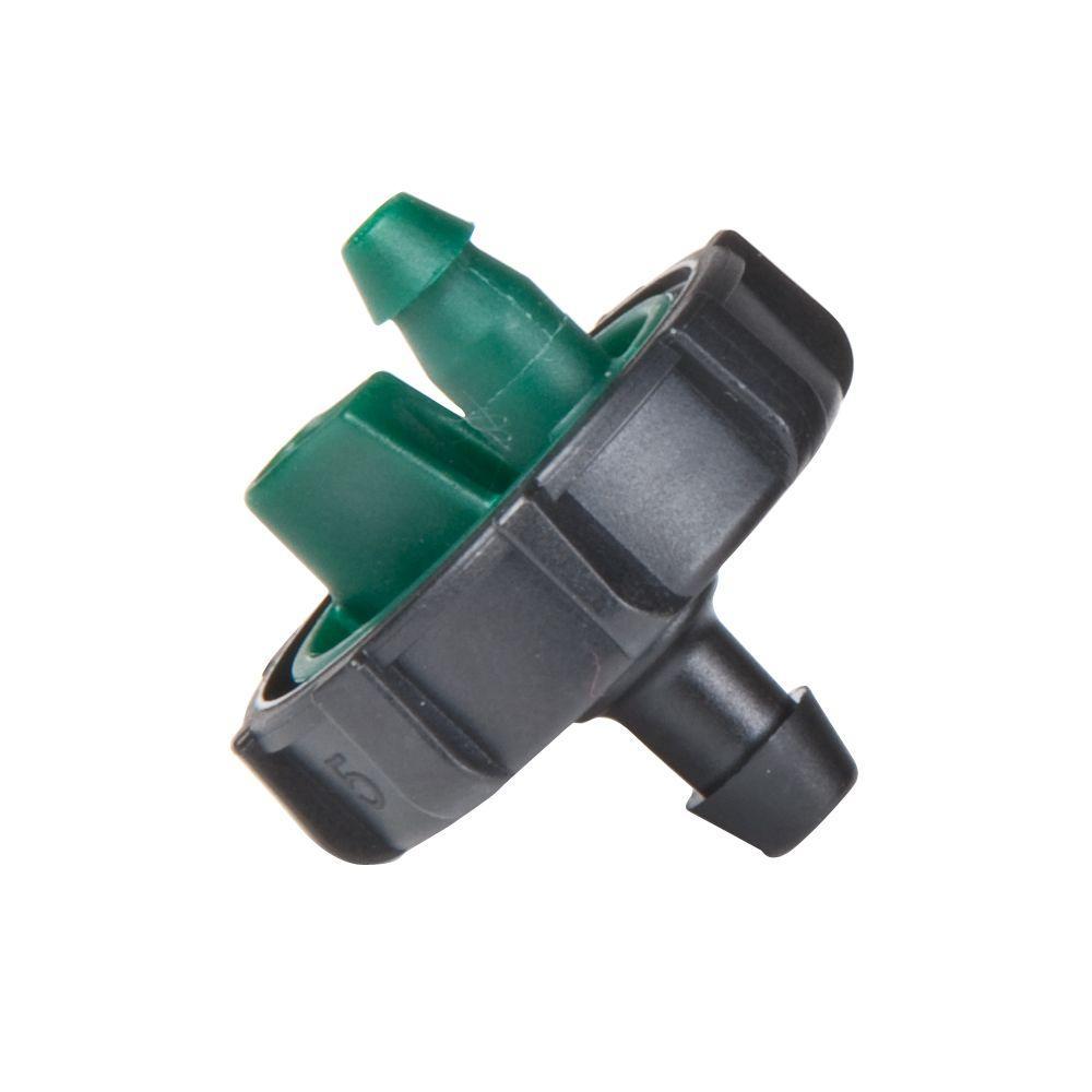 0.5 25-Pack Rain Bird BUE05-25S Drip Irrigation Button Dripper//Emitter 1//2 Gallon Per Hour