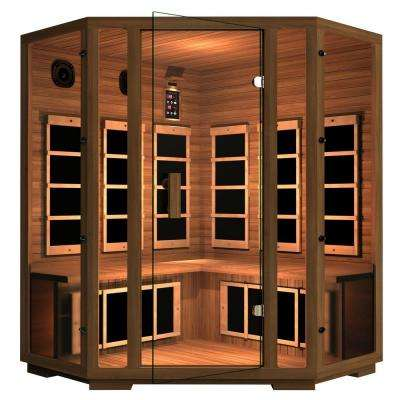 Freedom 4-Person Corner Far Infrared Sauna