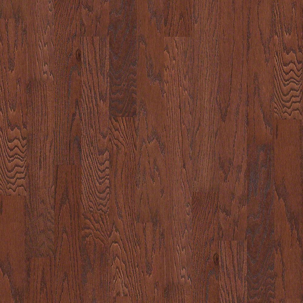 Shaw bradford oak cinnamon oak 3 8 in thick x 5 in wide for Hardwood floors 1000 square feet