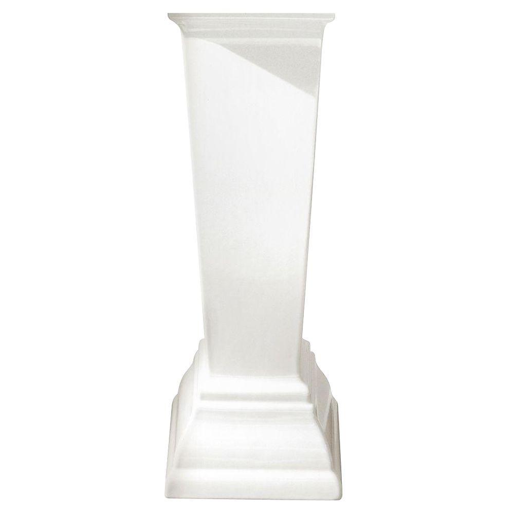 American Standard Town Square Pedestal Leg in White