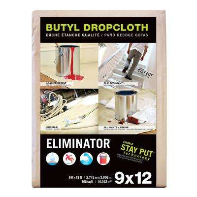 9 ft. x 12 ft. Eliminator Butyl Drop Cloth