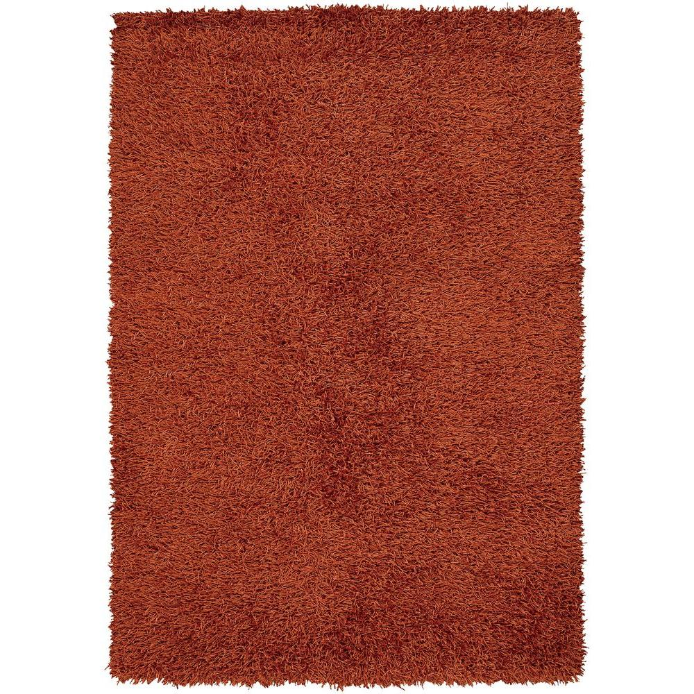 Chandra Zara Rust 5 ft. x 7 ft. 6 in. Indoor Area Rug
