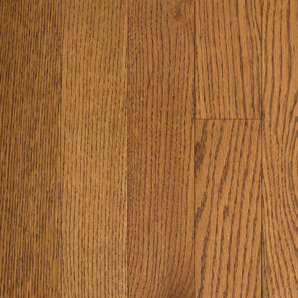 Blue Ridge Hardwood Flooring Oak Honey Wheat 3/4 in. Thick x 2-1/4 in. Wide x Random Length Solid Hardwood Flooring (18 sq. ft. / case)