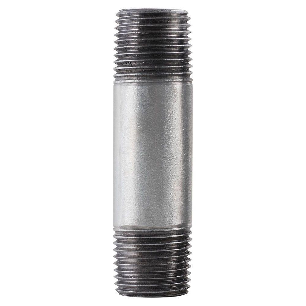 1/2 in. x 8 in. Galvanized Steel Nipple