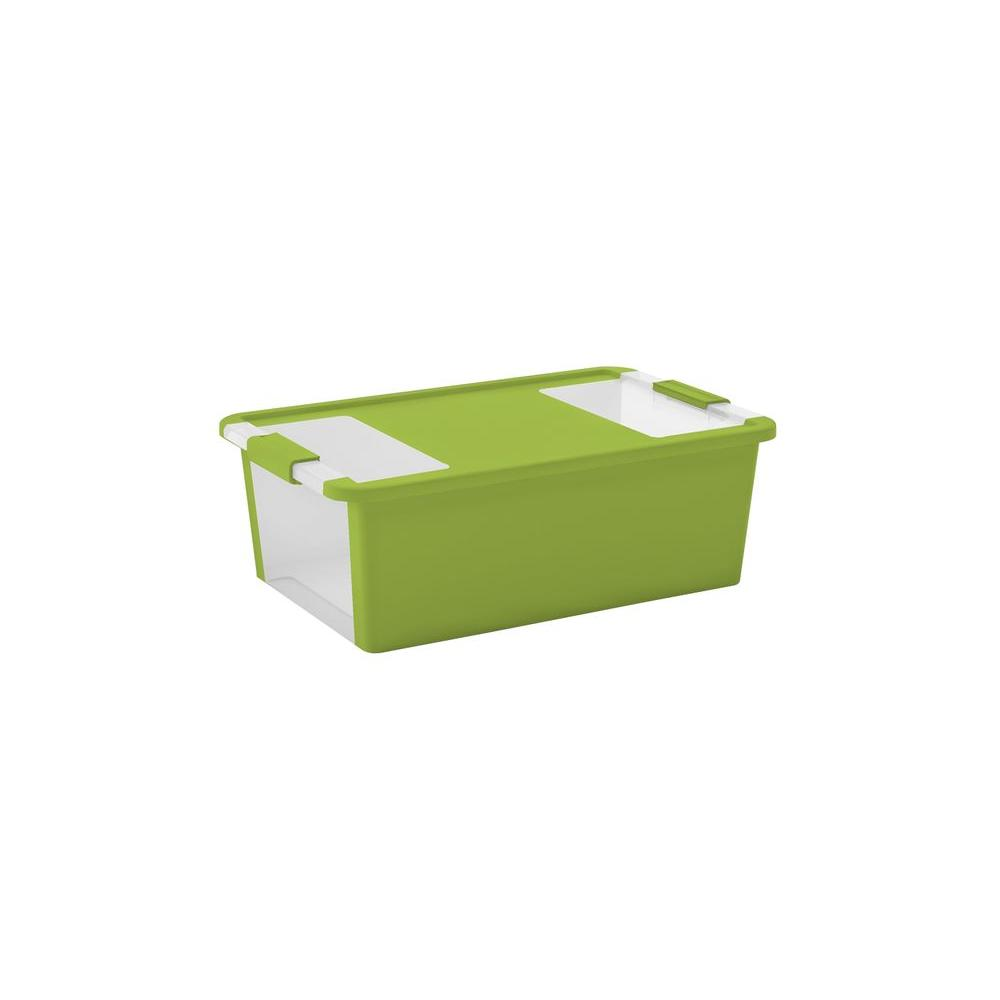 BiBox 28 5 qt  Medium Storage Tote in Lime Green-FG00845325400 - The