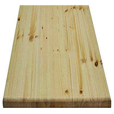 1 in. x 24 in. x 36 in. Allwood Pine Project Panel with Routed Edges on 1 Face