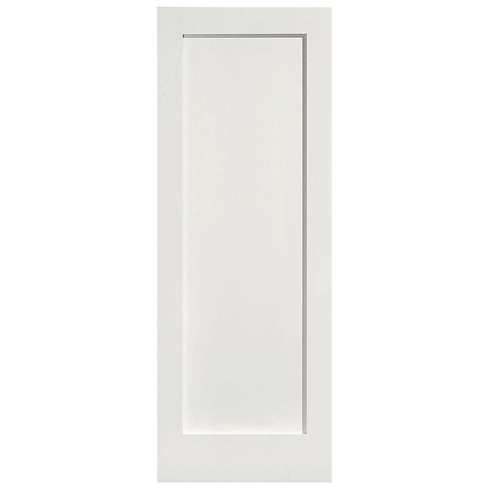 home depot white interior doors masonite 36 in x 80 in mdf series 1 panel left handed 23995