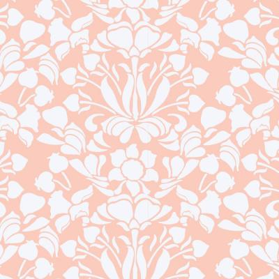 Nomad Collection Sanpdragon in Bleached Coral Premium Matte Wallpaper