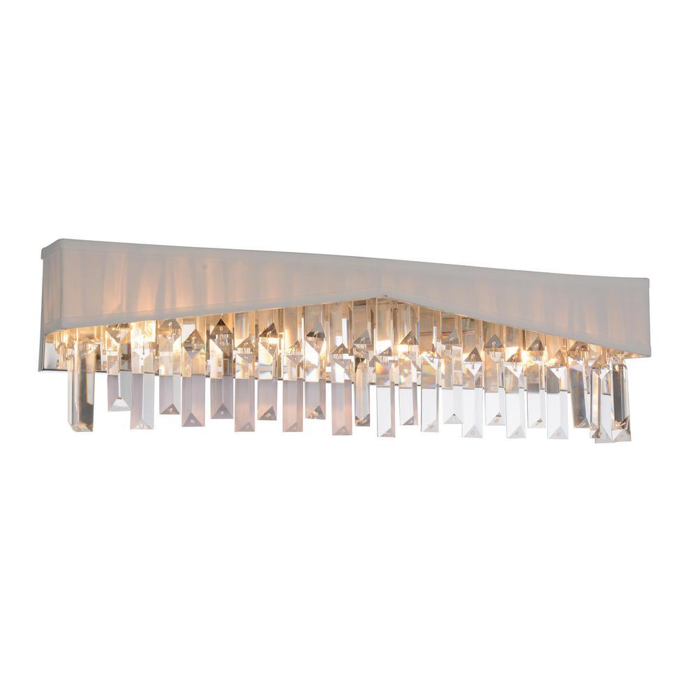 Havely 4-Light Chrome Sconce