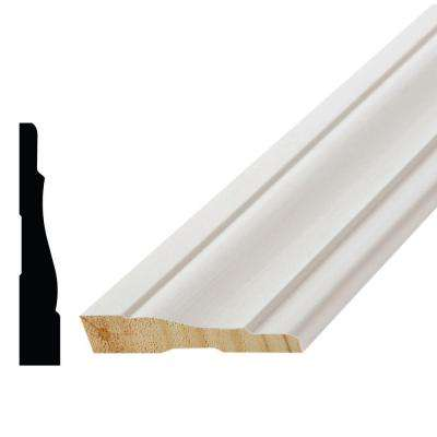 WM 444 11/16 in. x 3-1/2 in. x 96 in. Poplar Wood Primed Finger-Jointed Casing Moulding