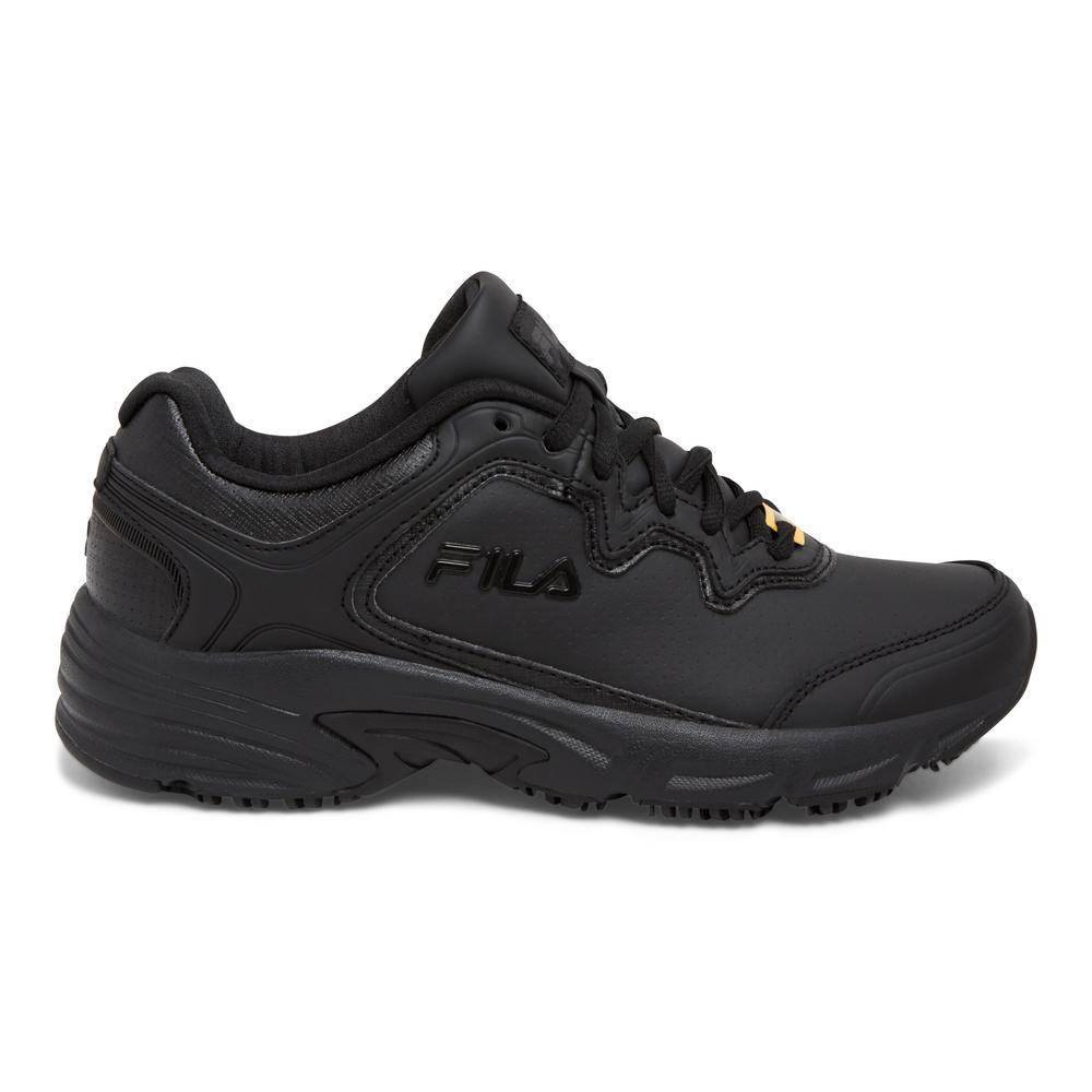22c3c1d48c Memory Fresh Start 2 Women Size 10 Black Leather Synthetic Soft Toe Work  Shoe