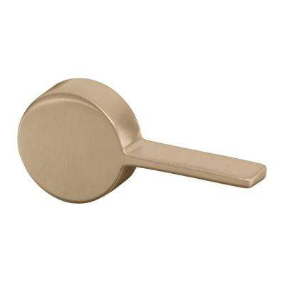 Cimarron Right-Hand Tank Lever in Vibrant Brushed Bronze