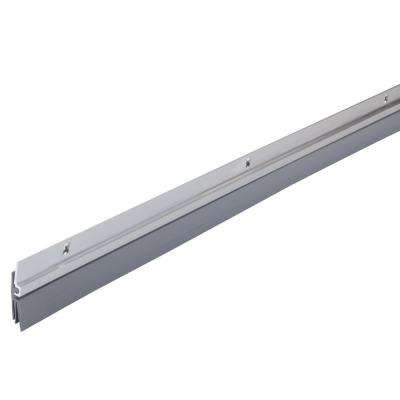 1/4 in. x 36 in. Triple-Fin Aluminum and Vinyl Door Sweep
