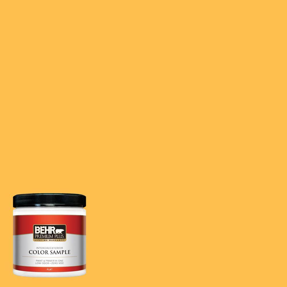 BEHR Premium Plus 8 oz. #310B-6 Twenty Carat Interior/Exterior Paint Sample