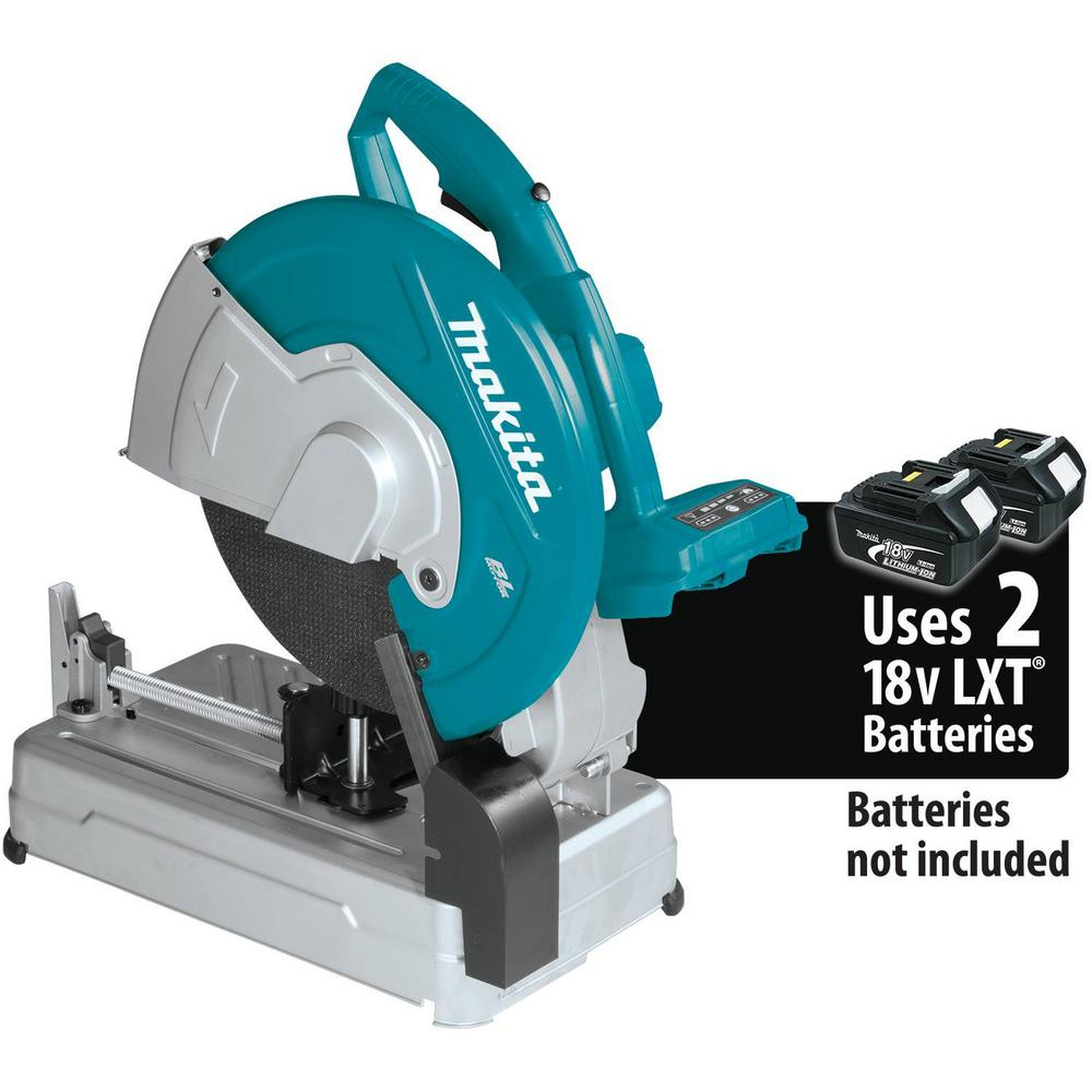 Makita 18-Volt X2 LXT Lithium-Ion 36-Volt Brushless Cordless 14 in. Cut-Off Saw Tool-Only
