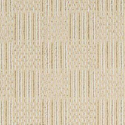 Carpet Sample - Upland Grid - Color Sunshine Loop 8 in. x 8 in.