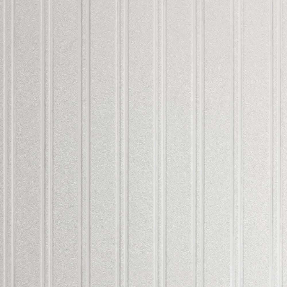 Beadboard Vinyl Peelable Wallpaper (Covers 56.4 sq. ft.)