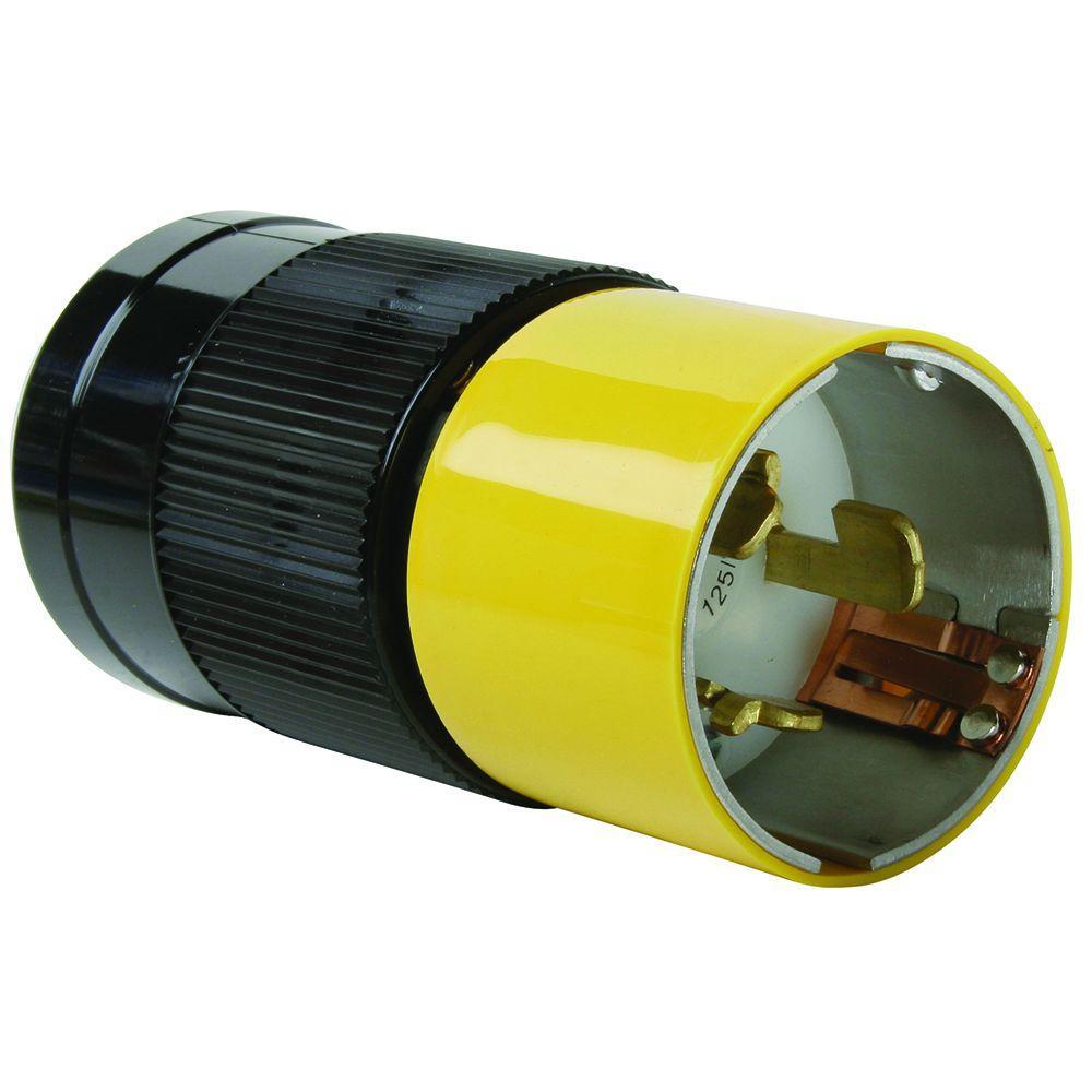 50 Amp 125/250-Volt California Standard Plug