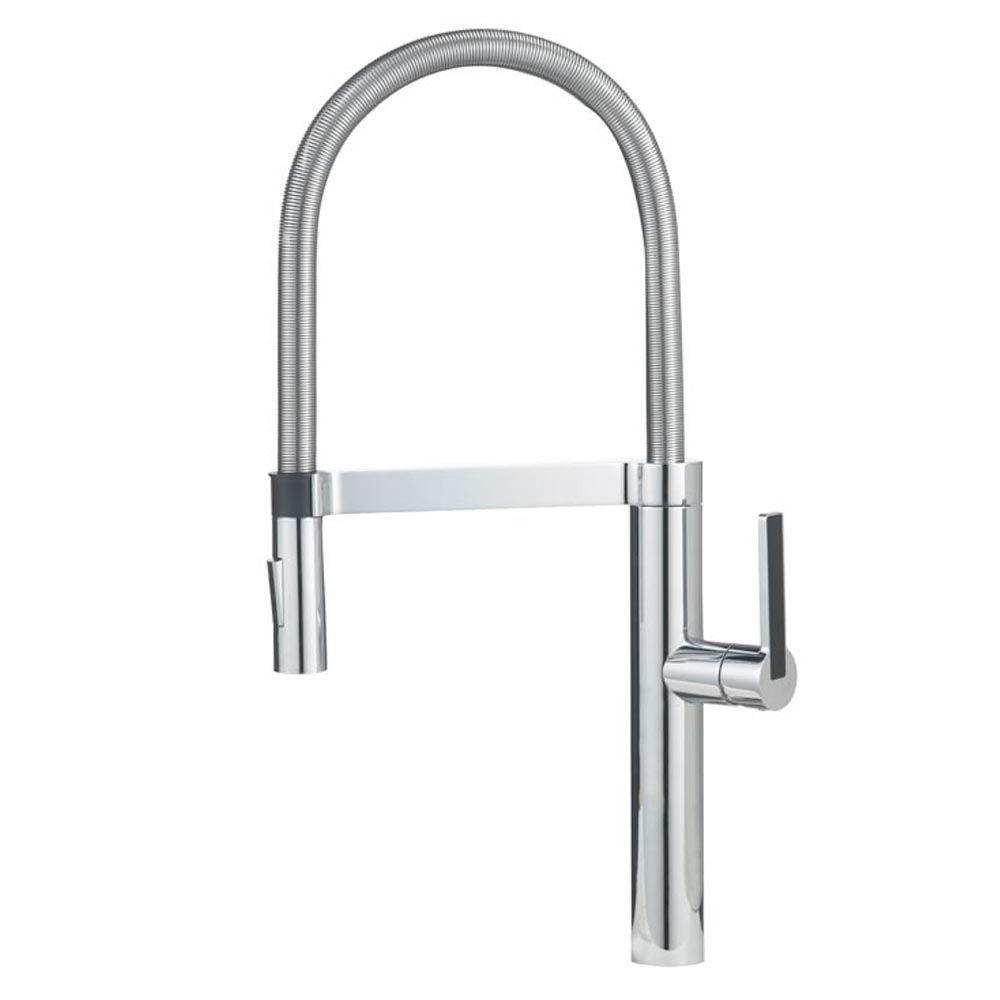 Blanco Culina Semi-Pro Single-Handle Pull-Down Sprayer Kitchen ...