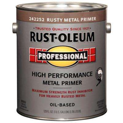 1 gal. Red Flat Rust Preventive Primer (Case of 2)