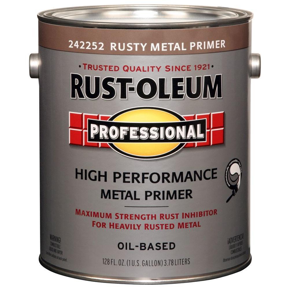 1 gal. Red Flat Rust Preventive Primer (Case of 2)