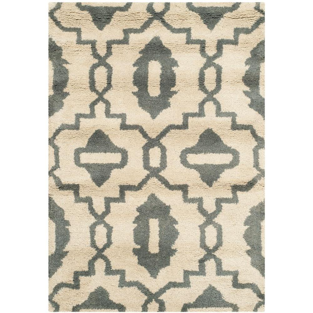 Chatham Beige/Grey 2 ft. x 3 ft. Area Rug