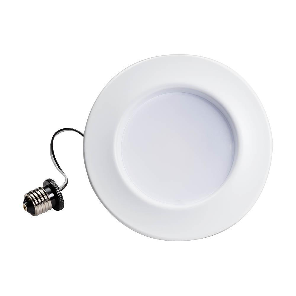 Matte White Integrated Led Recessed Kit 6 Pack