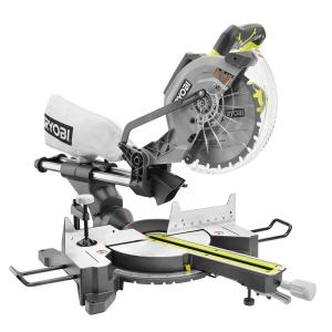 15 Amp 10 in. Sliding Miter Saw with Laser