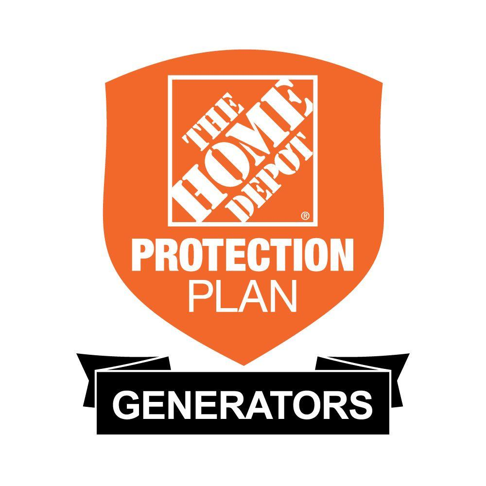 The Home Depot 3-Year Protection Plan for Generators ($300-$399.99)