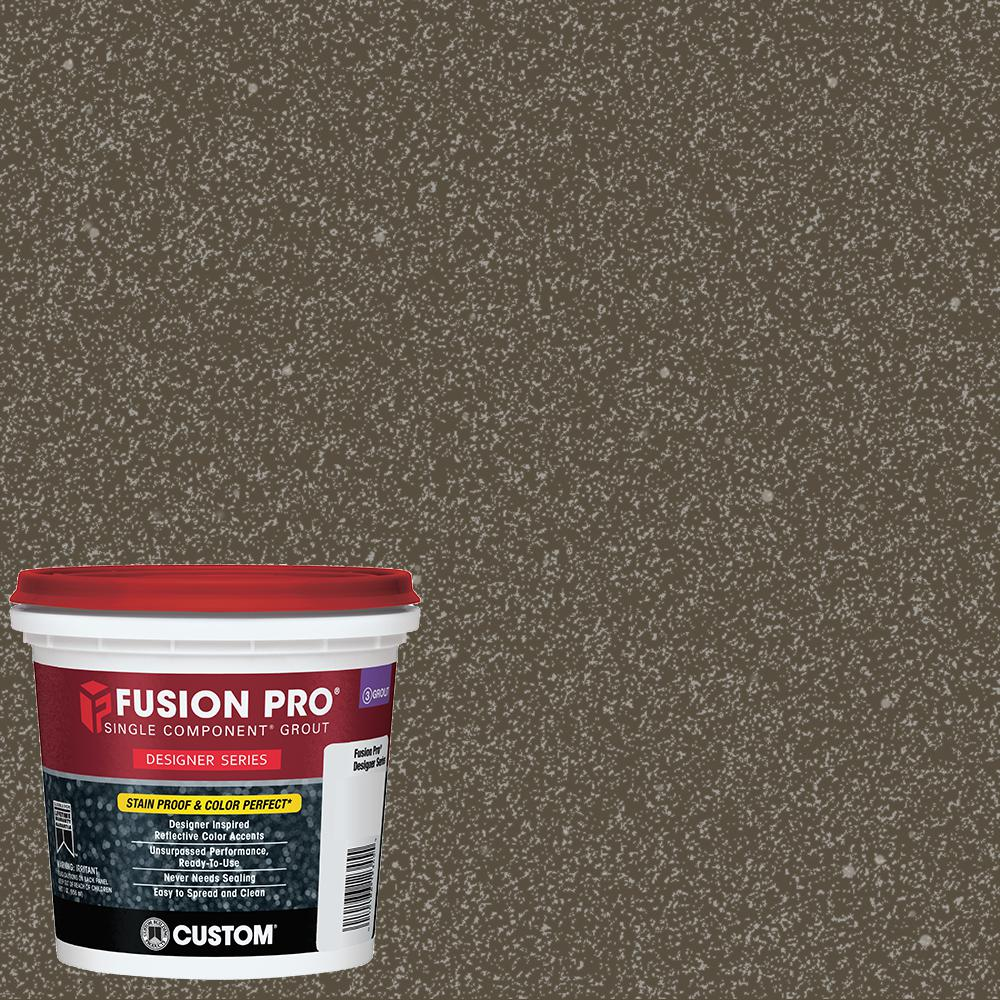 Fusion Pro #549 Smoked 1 qt. Designer Series Grout