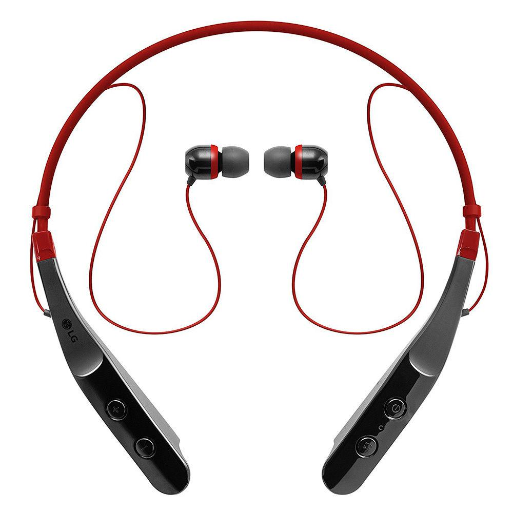 TONE TRIUMPH HBS-510 Bluetooth Wireless Stereo Headset Retail Package in Red