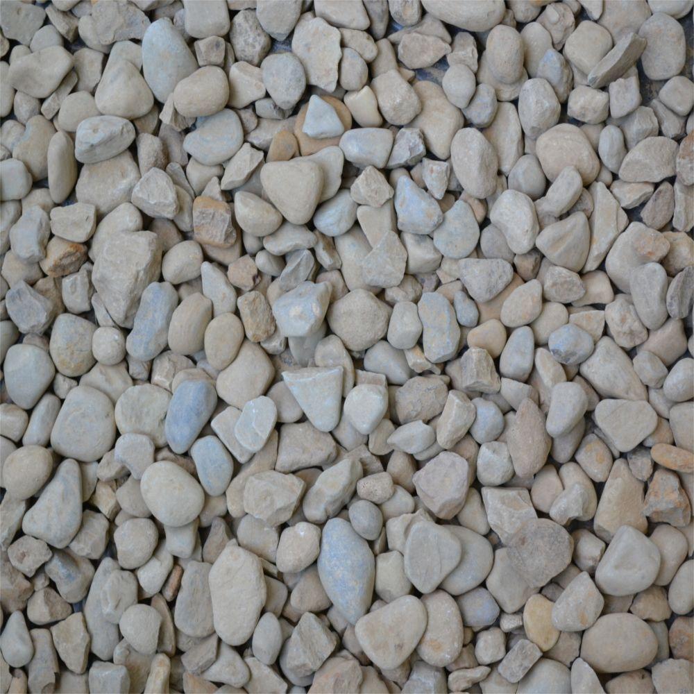 River Jack Stone Sizes: 10 Yards Bulk Pond Pebble-ST57WG10