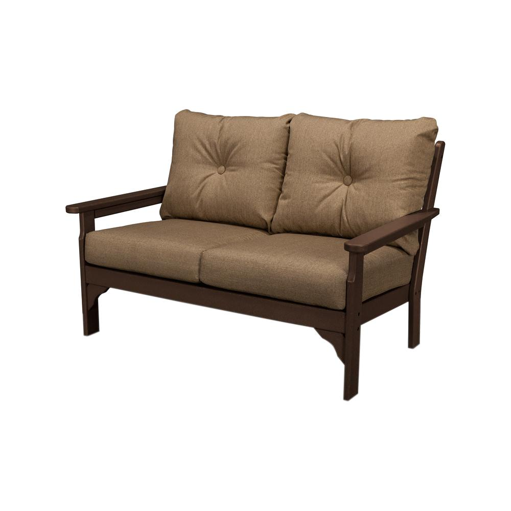 POLYWOOD - Outdoor Loveseats - Outdoor Lounge Furniture - The Home Depot