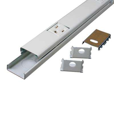 5 ft. Metal 10-Outlet Plugmold