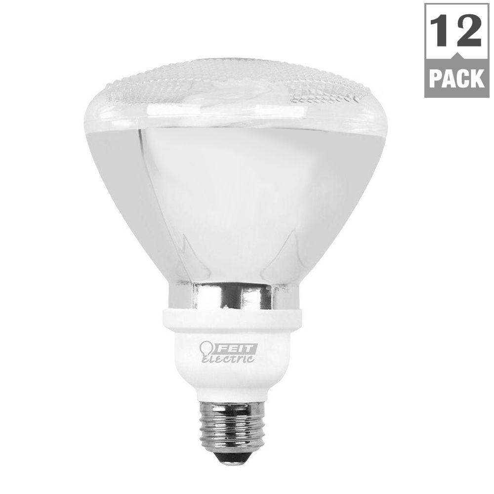 Feit Electric 90-Watt Equivalent Soft White (2700K) PAR38 CFL Flood Light Bulb (12-Pack)