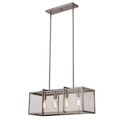 Eastwood II 4-Light Brushed Nickel Pendant