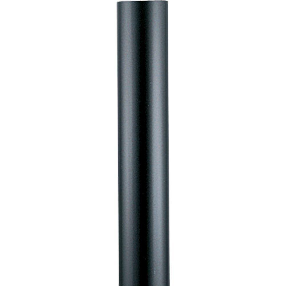 Black 12 ft. Exterior Lamp Post