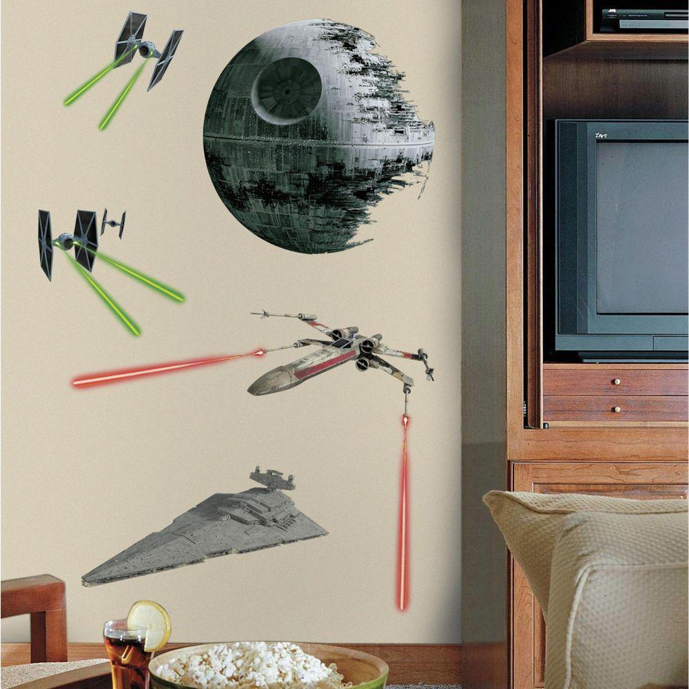 5 in. W x 19 in. H Star Wars Classic Ships