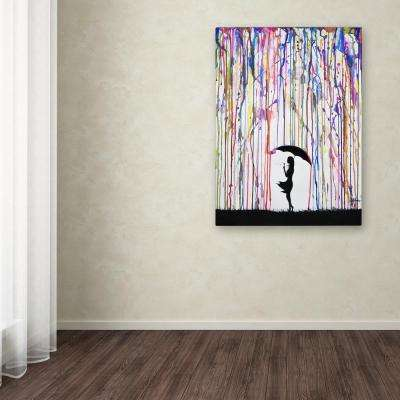 """47 in. x 35 in. """"Persephone"""" by Marc Allante Printed Canvas Wall Art"""