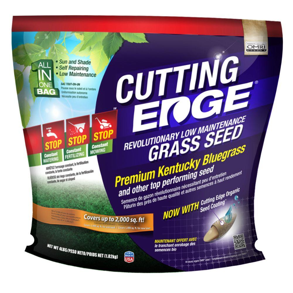Cutting Edge 4 lb. Low Maintenance Grass Seed - Sun and Shade Mix