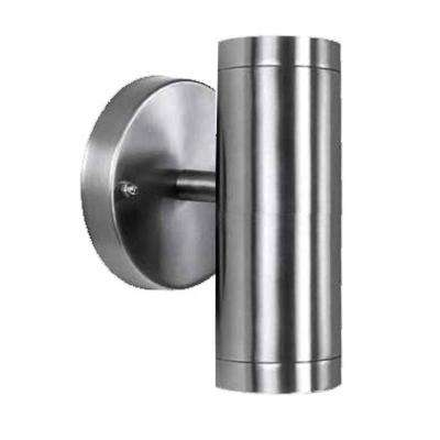 2-Light Stainless Steel Integrated LED Wall Sconce