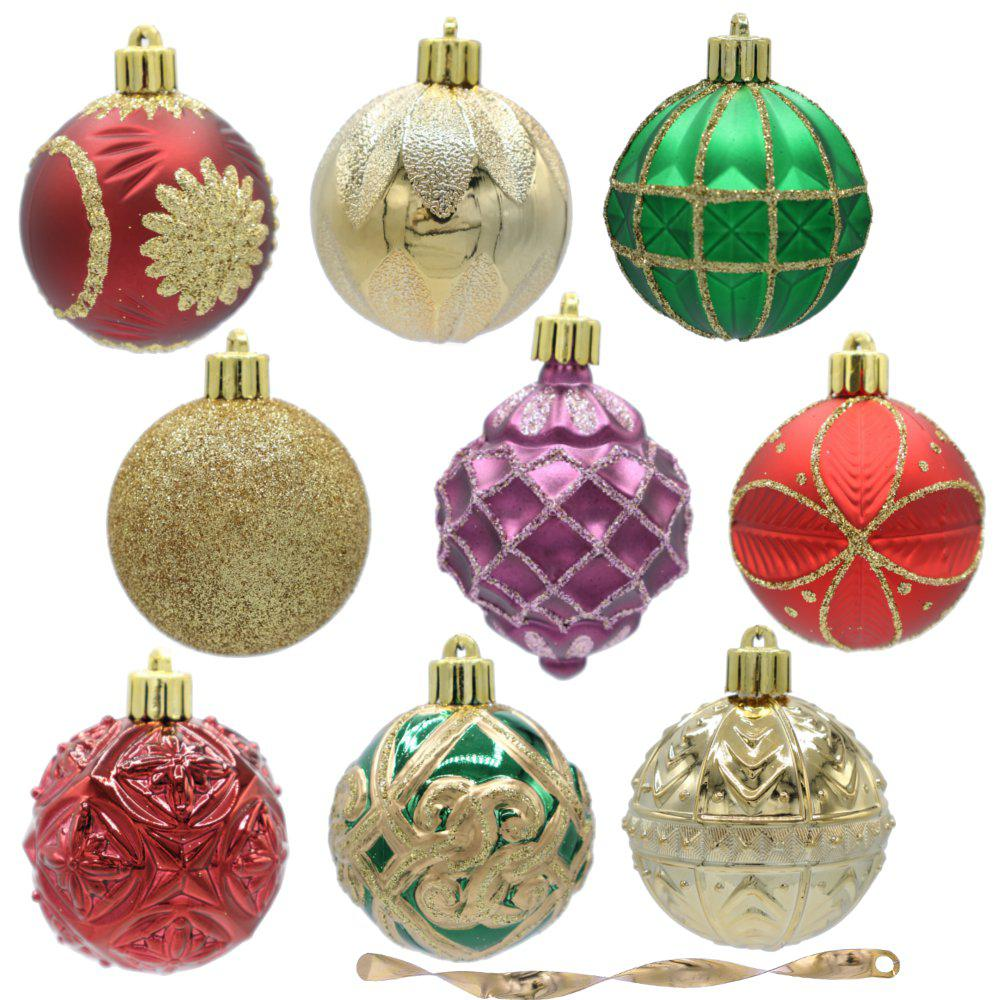 Home Accents Holiday Warm Tidings 60 Mm Assorted Ornament