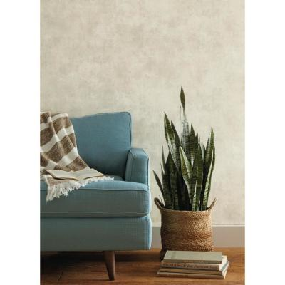 Plaster Finish Paper Strippable Wallpaper (Covers 60.75 sq. ft.)