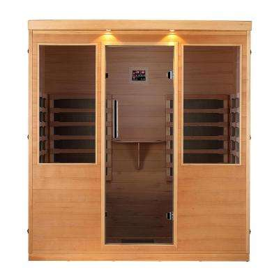 Whistler 4-Person Far Infrared Sauna with 12 Carbon Infrared Heaters