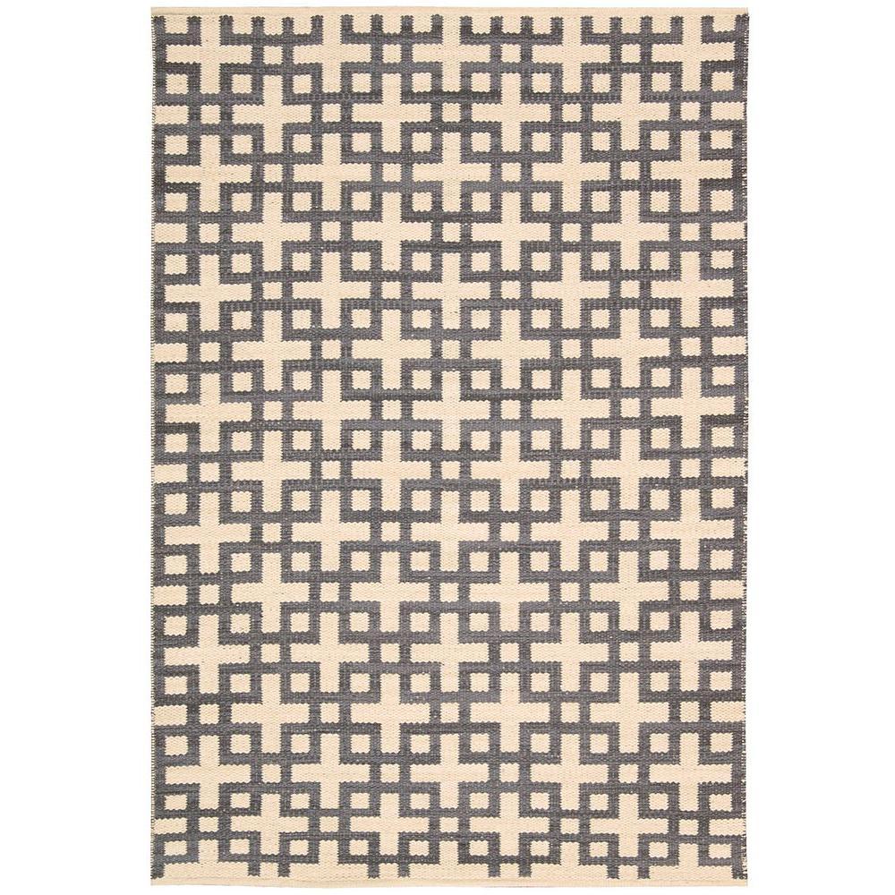 Nourison Maze Dove 3 ft. 6 in. x 5 ft. 6 in. Area Rug